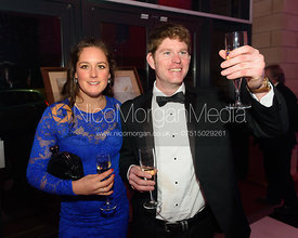 Harriet Herbert and Angus Smales - The Cottesmore Hunt Scarlet Fever Ball 17/12