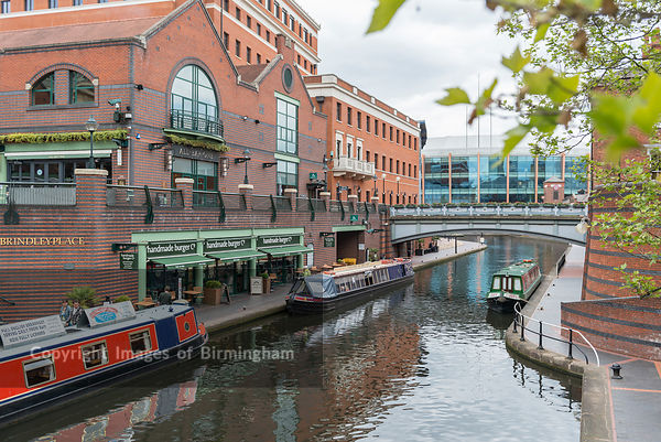 Canals at Brindleyplace