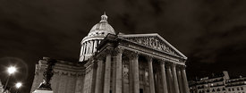 Pantheon at night, Paris