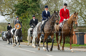 Joss and Nicky Hanbury - The Quorn Hunt at John O' Gaunt 9/11/12