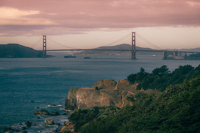 Golden gate view