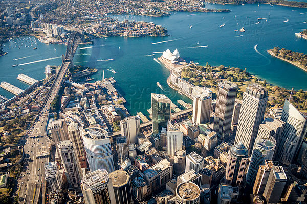 Sydney CBD and Harbour