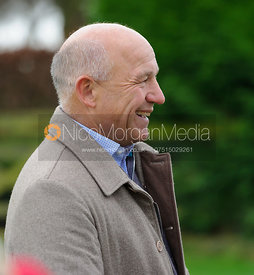 James Mossman at the meet - The Quorn Hunt at Markham House 21/12