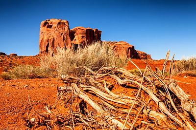 Red Rock Desert in Monument Valley Utah