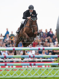 Sinead Halpin and Manoir de Carneville - show jumping phase,  Land Rover Burghley Horse Trials, 2nd September 2012.