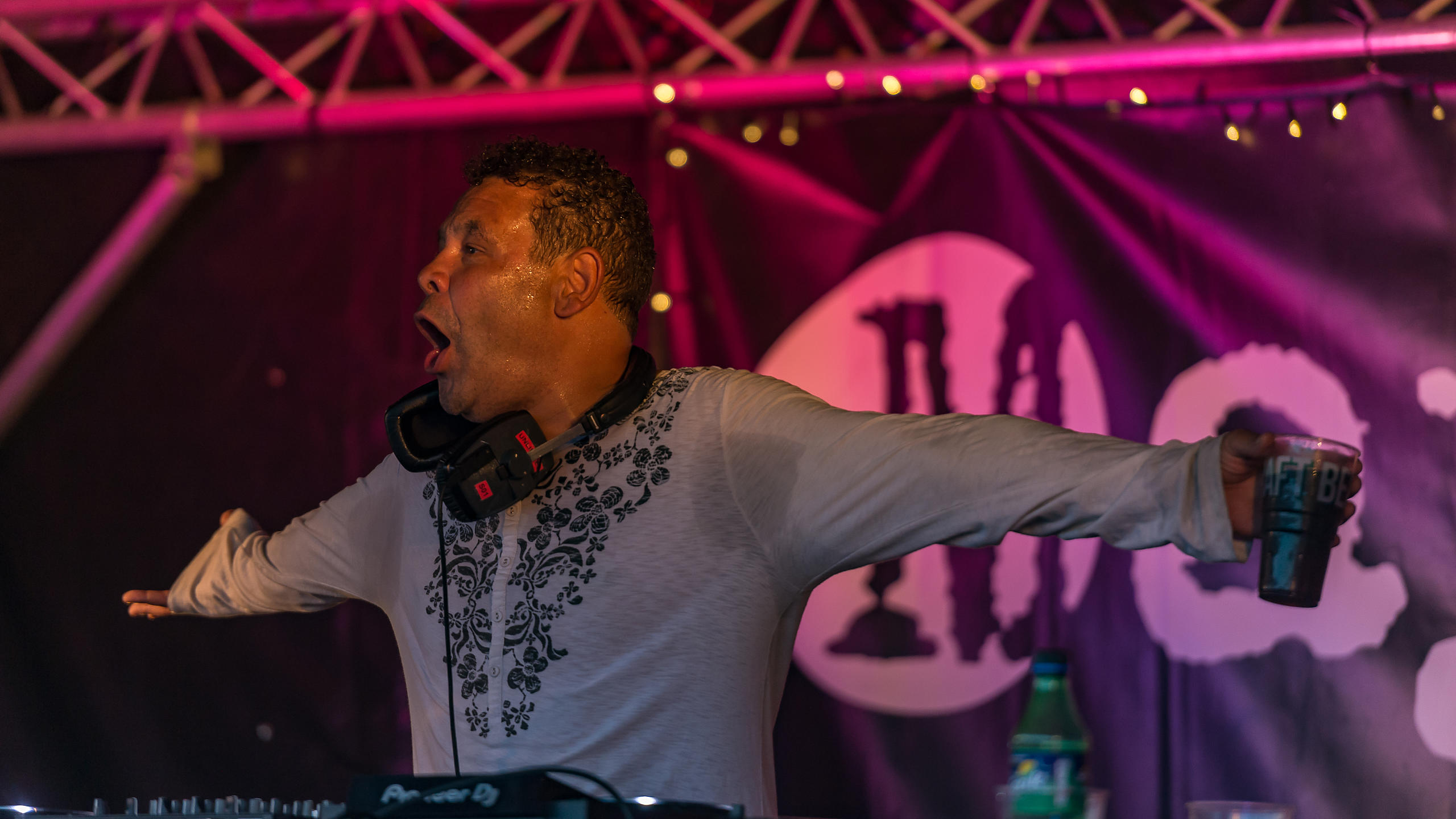 Craig Charles Performing on the Mayfield Studios Stage at at Victorious Festival 2017