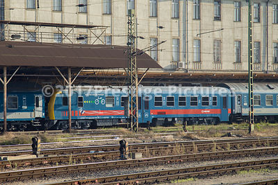 Mav-Start Train in the sidings at Keleti Station, Budapest