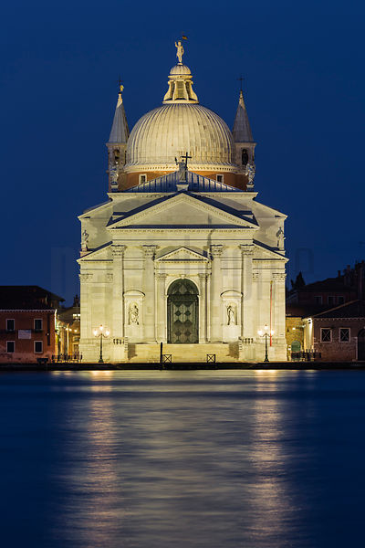 Chiesa del Santissimo Redentore (Church of the Most Holy Redeemer) at Dawn