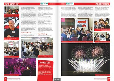 Stand Out magazine - Event Buyers Live 2016 - page 28-29 - April 2016
