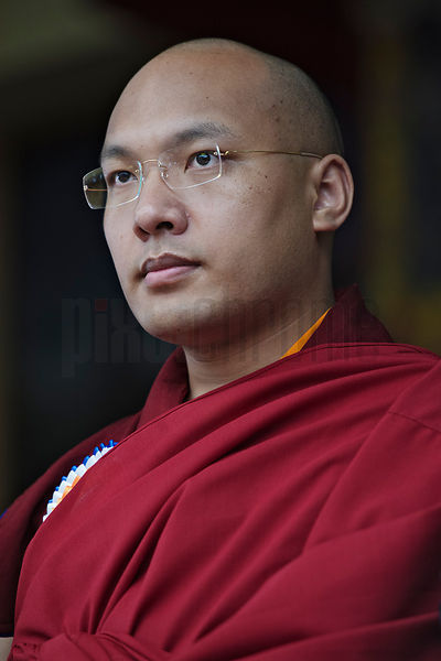 The Karmapa, Ogyen Trinley Dorje – the head of the Karma Kagyu school, one of the four main schools of Tibetan Buddhism