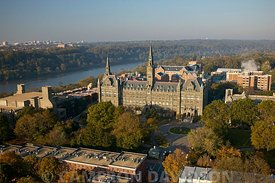 Aerial USA DC Georgetown University