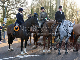 Boxing Day Meet of the Cottesmore Hunt, Oakham 26/12