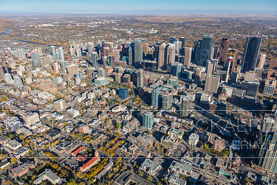 Downtown Calgary and Beltline