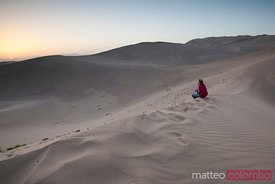 The desert of Dunhuang, China