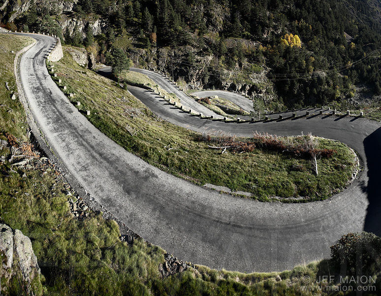 Road hairpins