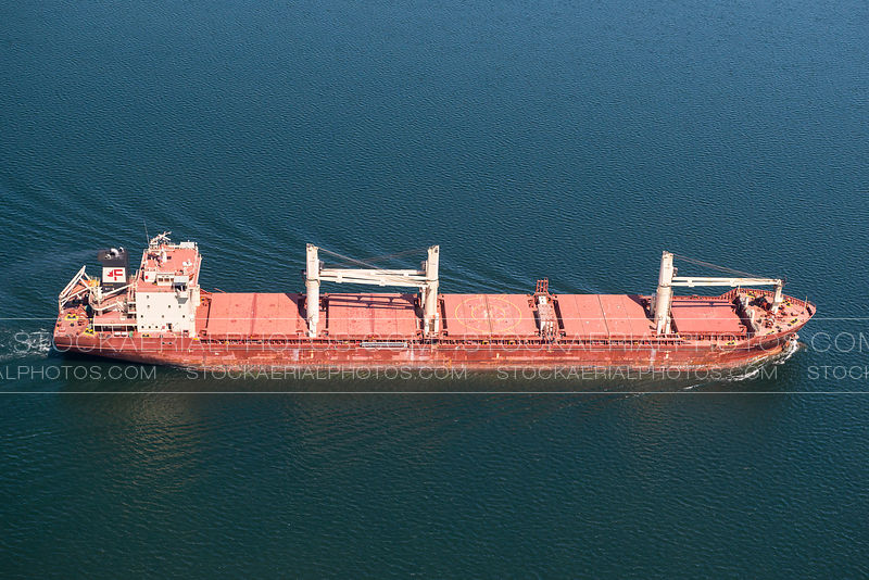 Cargo Ship, St Lawrence Seaway
