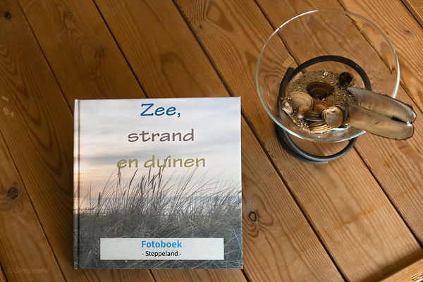 Photobook 'Zee, Strand en Duinen' (Sea, beach and Dunes) photos