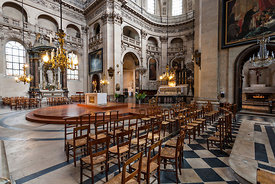 Choir and transept of Saint Paul church, Paris