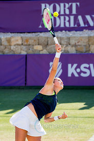 Sabine Lisicki (GER) wining against United States  Shelby Rogers (USA) the second round at the Mallorca Open 2017 in Santa Ponsa - Mallorca