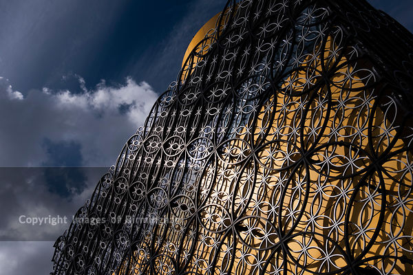 The Library of Birmingham, abstract of exterior.