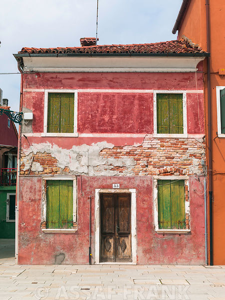 Old House, Burano, Italy