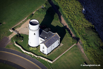 aerial photograph of Old Hunstanton Lighhouse UK