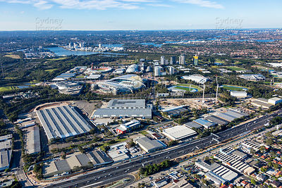 Lidcombe and Sydney Olympic Park