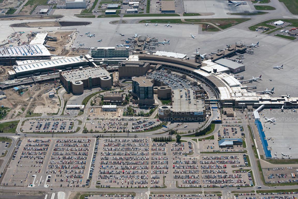 Edmonton International Airport Parking >> Aerial Photo | Calgary International Airport