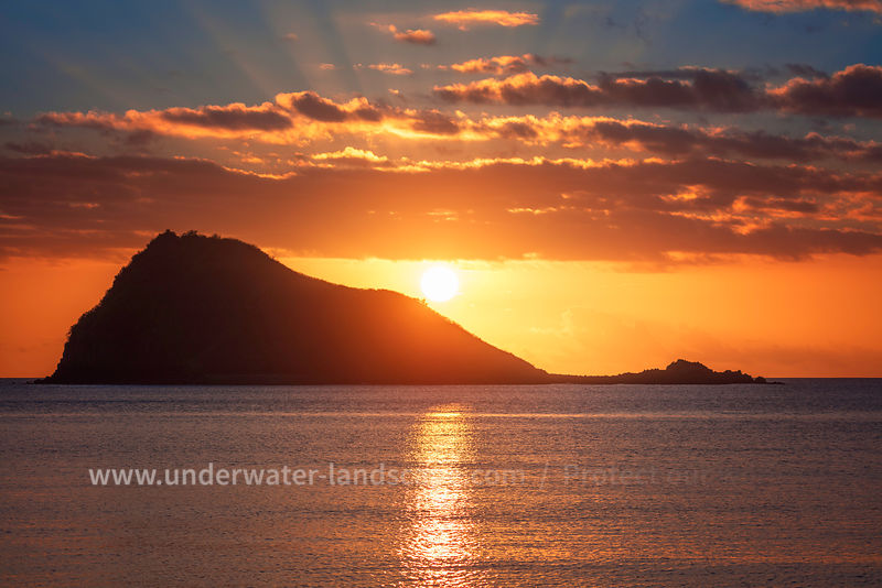 Sunset at Mayotte Island - Travel photography