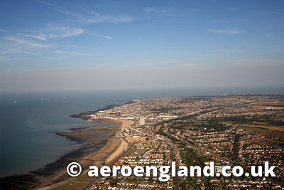 aerial photograph of Margate Kent England UK