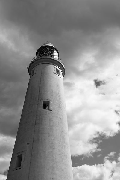 Lighthouse tower BW version