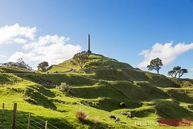 One tree hill famous landmark, Auckland, New Zealand