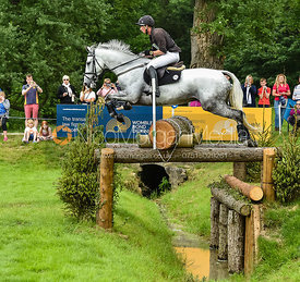 Richard P. Jones and ALFIES CLOVER, Equitrek Bramham Horse Trials 2018