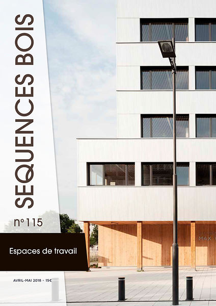 Tearsheet Séquence Bois architecture