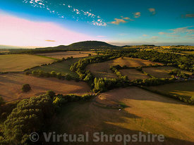 Summer Evening near the Wrekin