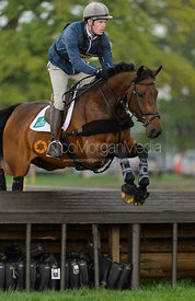 Angus Smales and EASTERN GOLD II - Rockingham International Horse Trials 2017