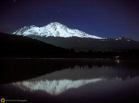 Mt. Shasta at Night