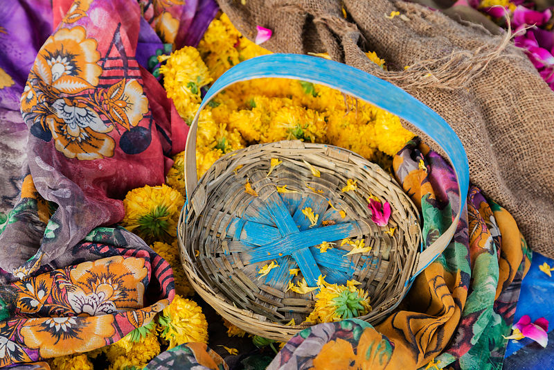 Flower Seller's Basket