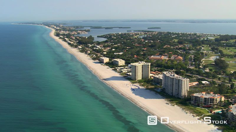 Flight over Longboat Key, Florida