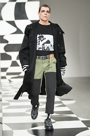 London Fashion Week Men's Autumn Winter 2018 - Liam Hodges