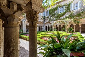 Cloister of Van Gogh's Saint Paul de Mausole, Provence, France