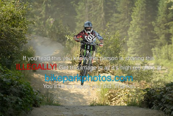 Monday July 30th ALine First Hit  bike park photos