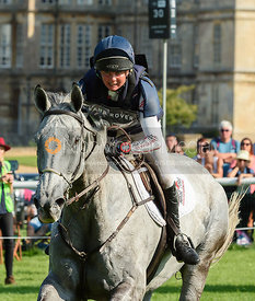 Louise Harwood and BALLADEER MILLER MAN, cross country phase, Land Rover Burghley Horse Trials 2018