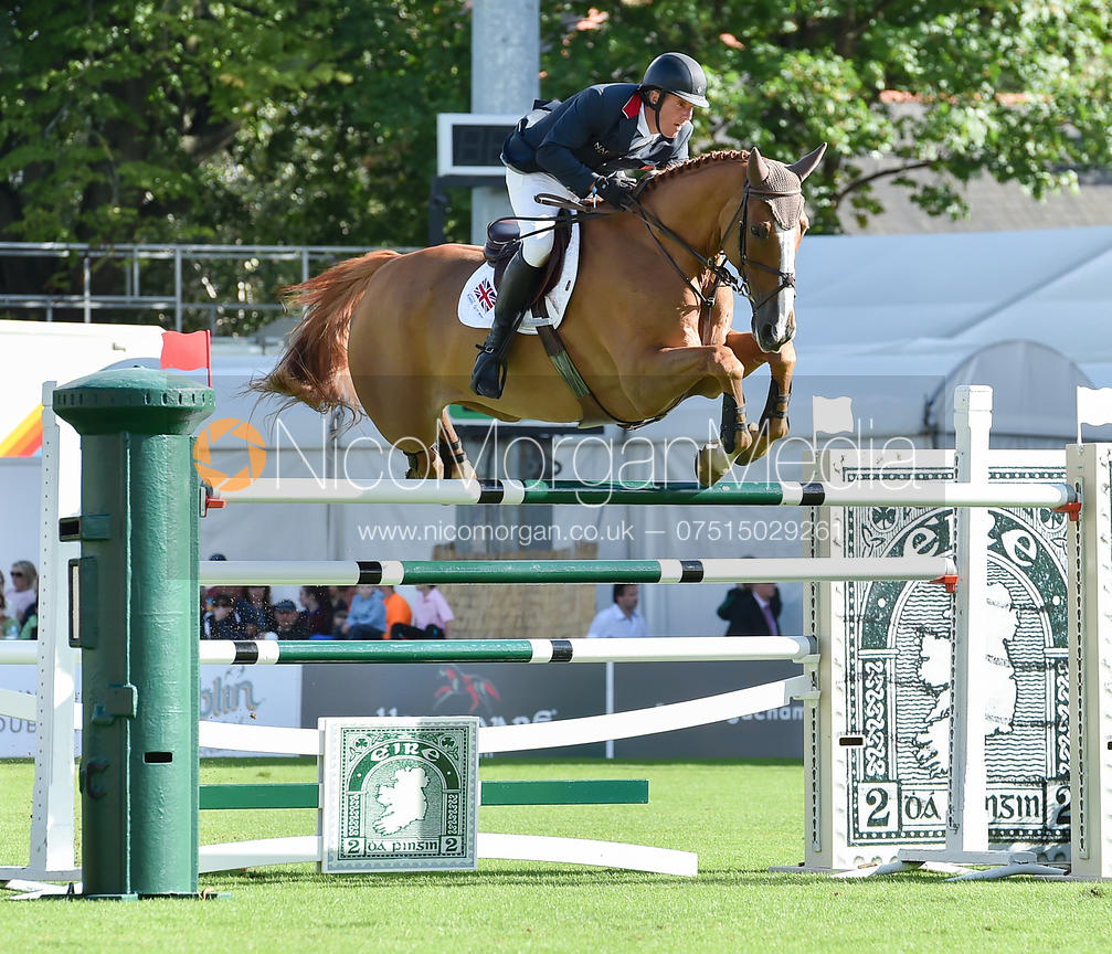 William Funnell and BILLY BUCKINGHAM  - FEI Nations Cup, Dublin Horse Show 2017