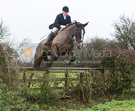 Martin Reason - Cottesmore Hunt at Deane Bank Farm 4/12/12