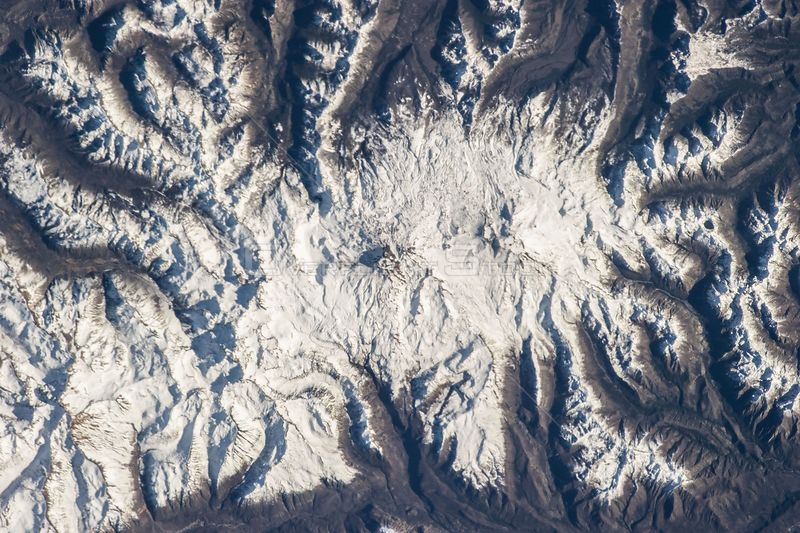 ABOARD THE INTERNATIONAL SPACE STATION -- 11 June 2013 -- Nevados de Chillan in Chile is featured in this image photographed by an astronaut on the International Space Station