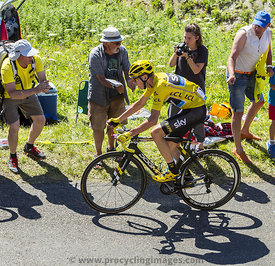 Cristopher Froome in Yellow Jersey - Tour de France 2016