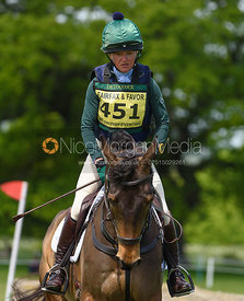 Eliza Stoddart and OAKBANK ULTIMATE ILLUSION, Fairfax & Favor Rockingham Horse Trials 2018