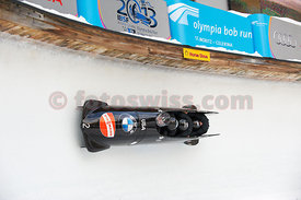 FIBT Ladies Bob World Cup in Olympia Bob Run in St. Moritz