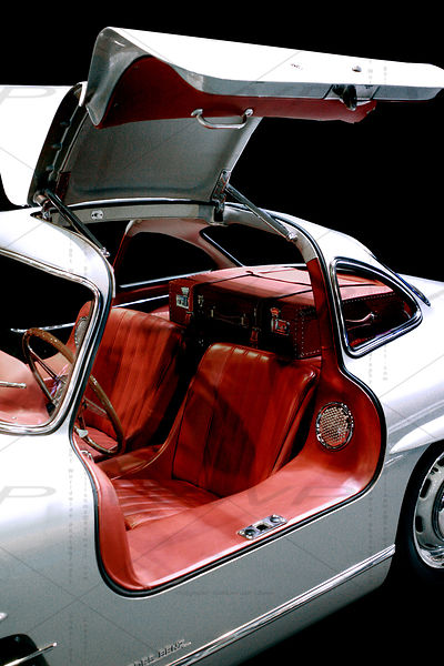 Mercedes Benz 300 SL 1955 Art Photographs